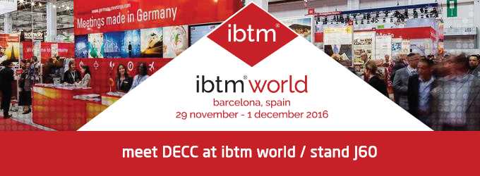 Meet DECC at IBTM World 2016