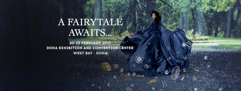 Doha jewellery watches exhibition djwe 2017 decc doha jewellery and watches exhibition 2017 invites you on a journey to the very heart of a glamorous tale in which exclusivity beauty art stopboris Choice Image