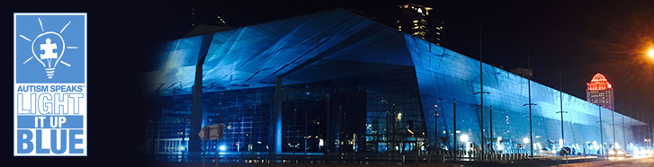 """DECC """"Light It Up Blue"""" In Honor of Autism Day"""