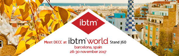 Meet DECC Team at IBTM World 2017