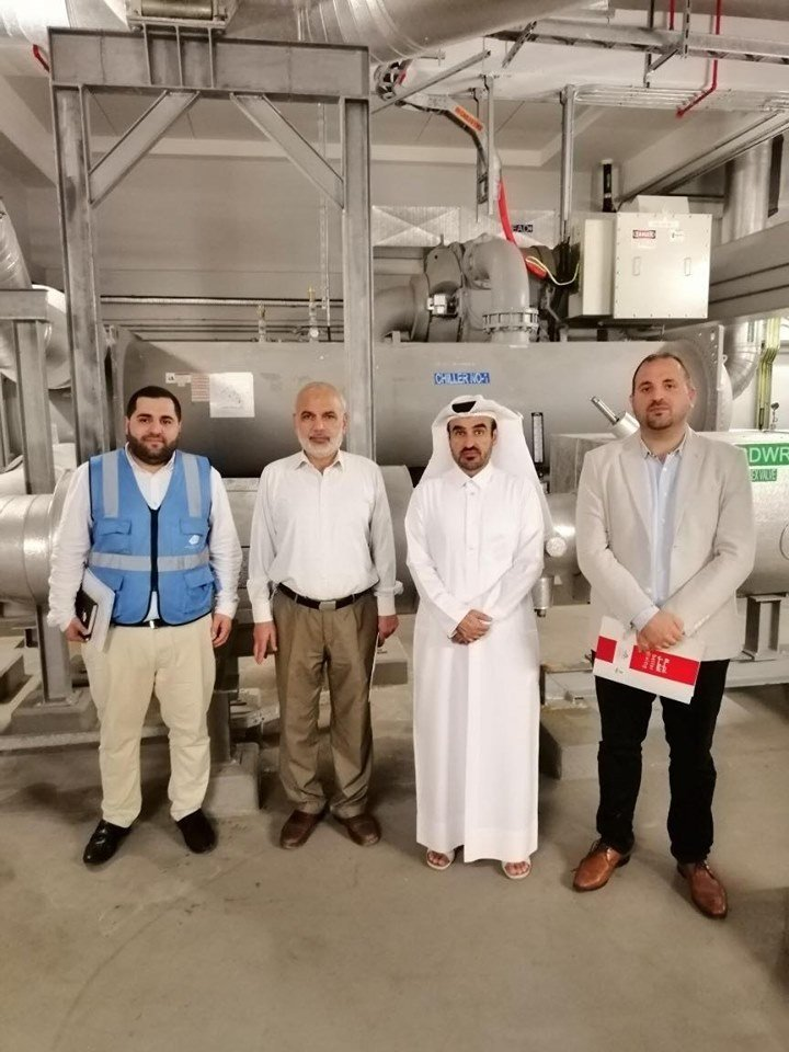 KAHRAMAA represented by the DCS Department visits DCS of DECC