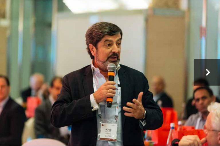الرئيس التنفيذي لمركز الدوحة للمعارض والمؤتمرات ، في قمة يوفي العالمية للرؤساء التنفيذيين 2020